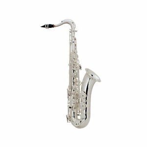 Selmer 44 Professional Bb Teor Saxophone Outfit, Silver Plated