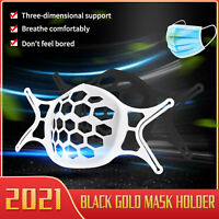 2/5/10/20PCS 3D Face Mask Bracket Mouth Separate Inner Stand Soft Rubber Holder