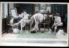 ARTISTE / Scéne de NU dans LOGE de L'OPERA / EFFEUILLAGE avant 1904