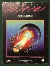 Journey Open Arms Music Booklet Sheet Song