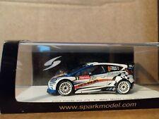 1/43 scale Spark Ford Fiesta RS WRC  Monte Carlo Rally 2012 - F Delecour S3343