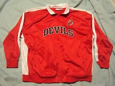 NJ Devils Track Jacket Majestic Adult Size 5X New Without Tags!