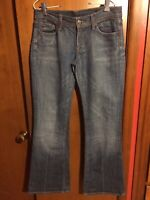 Citizens Of Humanity Womens Jeans Low Waist Flare Ingrid #002 Size 28