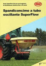 """PUBBLICITA' WERBUNG """" VICON : SPANDICONCIME A TUBO OSCILLANTE SuperFlow """""""