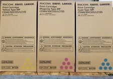 3 X RICOH  TONERS YELLOW 841334 MAGENTA 841335 CYAN 841336 FOR C5560 / SDC555