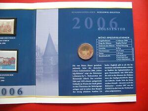 Germany 2006 Schleswig-Holstein + Stamps IN Gatefold Folder