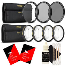 Vivitar 72mm Macro Close Up Kit with Deluxe Accessory Kit for All 72mm Lenses