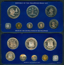 1978 Pres. MANUEL L QUEZON 50P / 25P Philippine Commemorative Coin Set