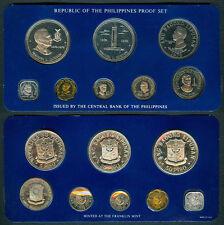 1978 Pres. MANUEL L QUEZON 50P / 25P Philippine Commemorative Coin Set