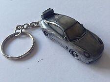 Porsche 911 GT3 ref315   3D split-ring keyring FULL CAR
