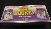 1991-92 Score Hockey Factory Sealed Set US Version - Free Shipping on $75+