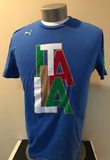 PUMA SPORT LIFESTYLE  ITALIA FGIC T SHIRT Size L in EUC
