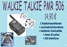 WALKIE TALKIE  RADIO E INTERNFONO  PMR 506 TX
