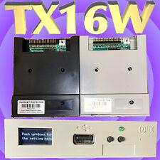 HxC Floppy Emulator With OLED Screen (Yamaha TX16W) + Typhoon 2000 on USB Drive