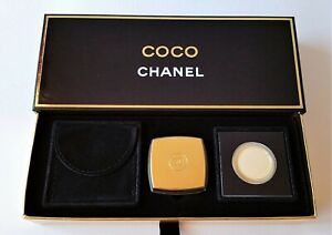 CHANEL COCO Pressed Parfum Compact with Refill