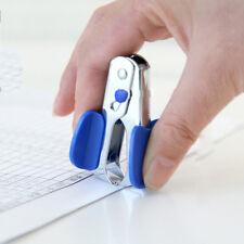 Sturdy New 1X Mini Staple Remover Black Jaw  Staplers Office Stationery MDAU
