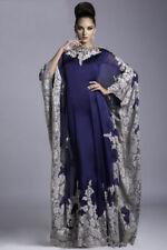 Muslim Mother of the Bride Dresses Kaftan Dubai Arabian Long Outfit Cape Gown