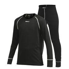 Équipements de neige vêtements, accessoires noirs enfants pour les sports d'hiver