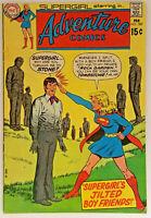 Adventure Comics #389 VF-/7.5 Supergirl Brainiac DC Bronze Age1970 Vintage