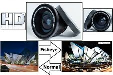 Digital HD Super Fisheye Lens with W/Macro For Panasonic HDC-HS900 HDC-TM700