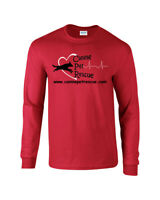 CPR Canine Pet Rescue Unisex T Shirt Mens Womens Adopt Long Sleeve Tee