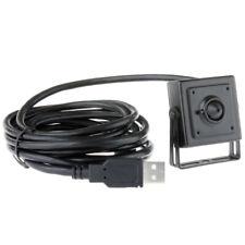 640X480 VGA OV7725 Sensor UVC USB Box Camera 3.7mm Pinhole Lens Aluminum Case