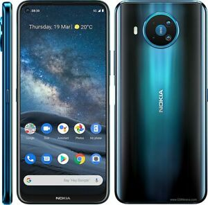 "Nokia 8.3 5G Dark Blue 6.81"" 128GB 64MP+12MP+2MP+2MP Octa-core Phone By FedEx"