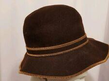 Betmar of New York ladies Brown wool felt hat