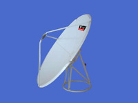 C Band 120cm (4 feet) Prime focus dish antenna /satellite dish