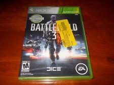 Battlefield 3 (Microsoft Xbox 360, 2011) Brand new, Factory Sealed