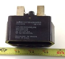 POTTER & BRUMFIELD 12VDC 1HP RELAY PRD11DYO