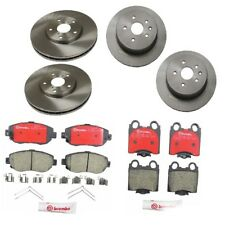 Front and Rear Brake Rotors & Pads Kit Brembo for Lexus GS300 GS430 IS300 SC430
