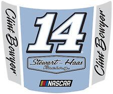 NASCAR #14 Clint Bowyer Hood Shaped Magnet-NASCAR Magnet