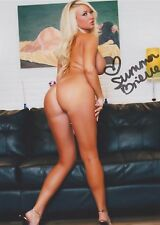 "Summer Brielle (Full Nude) ""Porn Star"" MILF Big Boobs RARE SIGNED RP 8X10 WOW!!"