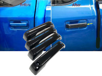Gloss Black Door Handle Covers TRIMS Fit Ford 2015-2020 F-150 F150
