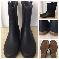 New Tretorn  Rubber Rain Boots Women's Mid Calf US 9.5  EUR 40 Matte Black