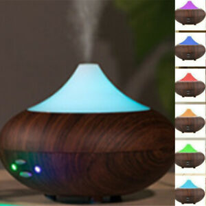 Electric Air Diffuser Mist Aroma Oil Humidifier Night Light Up Relax Defuser LED