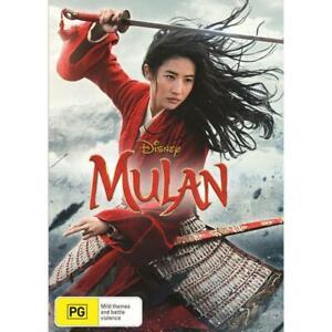 MULAN DVD - NEW & SEALED DISNEY, LIVE ACTION FREE POST