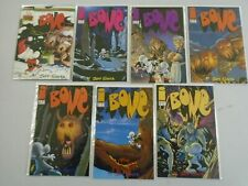 Bone comic lot 14 different issues 8.0 VF