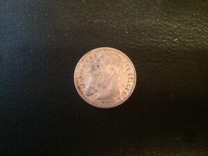 Belgium 2 Francs, 1909 silver