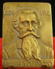 Médaille Antonio de Bulhao Pato Poète portugais Portuges Poet Medal 勋章