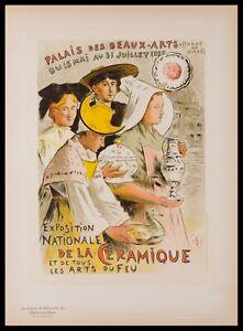 Original Lithograph by E. M. Nelaton from Les Maitres de L'Affiche, Plate 162.