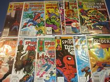 Marvel Team Up #118,119,120,121,122,123,124,125,126,127,128 lot of 11 F to VF-