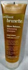 John Frieda Brilliant Brunette Volumizing Shampoo Amber to Maple 8.45oz