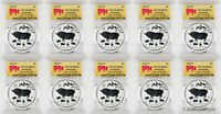 2019-P $1 Australia Year of the Pig 1oz Silver Coin PCGS MS70 - Lot of 10