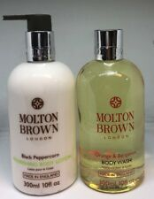 Molton Brown Black Peppercorn Body Lotion & Orange Bergamot Body Wash 300'l