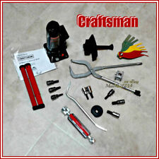 Craftsman 15 Pc Brake Service Kit for Disc & Drum System + 2 Ton Hydraulic Jack
