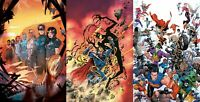 Dark Nights Death Metal The Last Stories, The Secret Origin, War of Multiverses