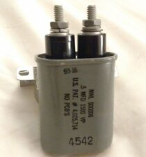 Nwl S00006 - .5Mfd 1500 Vp Capacitor