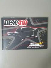 Team Durango DESC410  Assembly Instructions Manuel and Setup Sheet and Decals